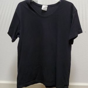Plain Black Top MADE IN THE USA